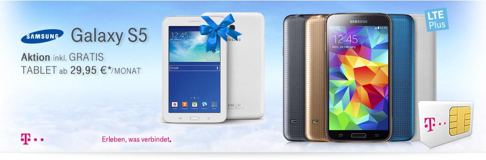 Samsung Galaxy S5 LTE+ Aktion