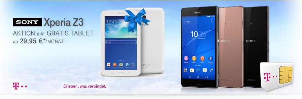 Sony Xperia Z3 Smartphone Aktion