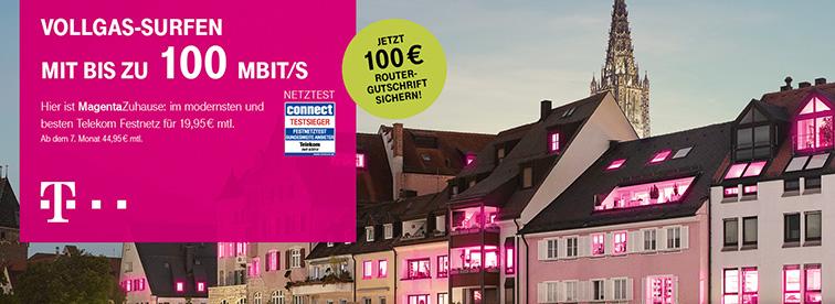 Telekom DSL Neuvertrag Festnetzangebote