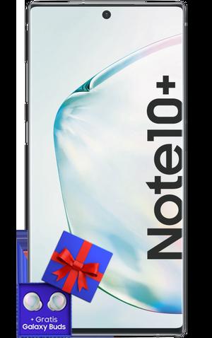 Das Samsung Note 10+ mit Galaxy Buds