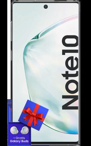 Das Samsung Note 10 mit Galaxy Buds