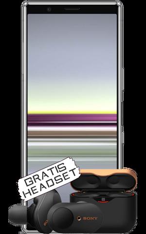 Sony Xperia 5 mit gratis Kopfhörer