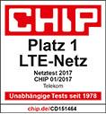 chip Testsieger LTE-Netz 2017 Telekom