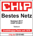 chip Testsieger Mobilfunknetz 2017 Telekom