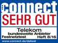 connect Testsieger Festnetz 2017 Telekom