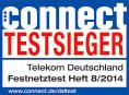 Telekom Testsieger connect Festnetztest