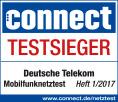 connect Testsieger Mobilfunknetz 2017 Telekom