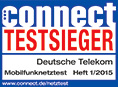 connect Testsieger 2015 Telekom