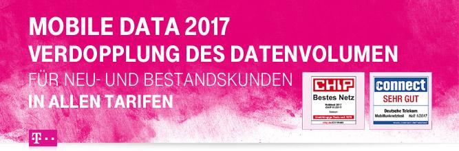 Doppeltes Datenvolumen in allen Telekom Daten Tarifen