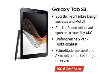 Galaxy Tab S3 Fanprämie