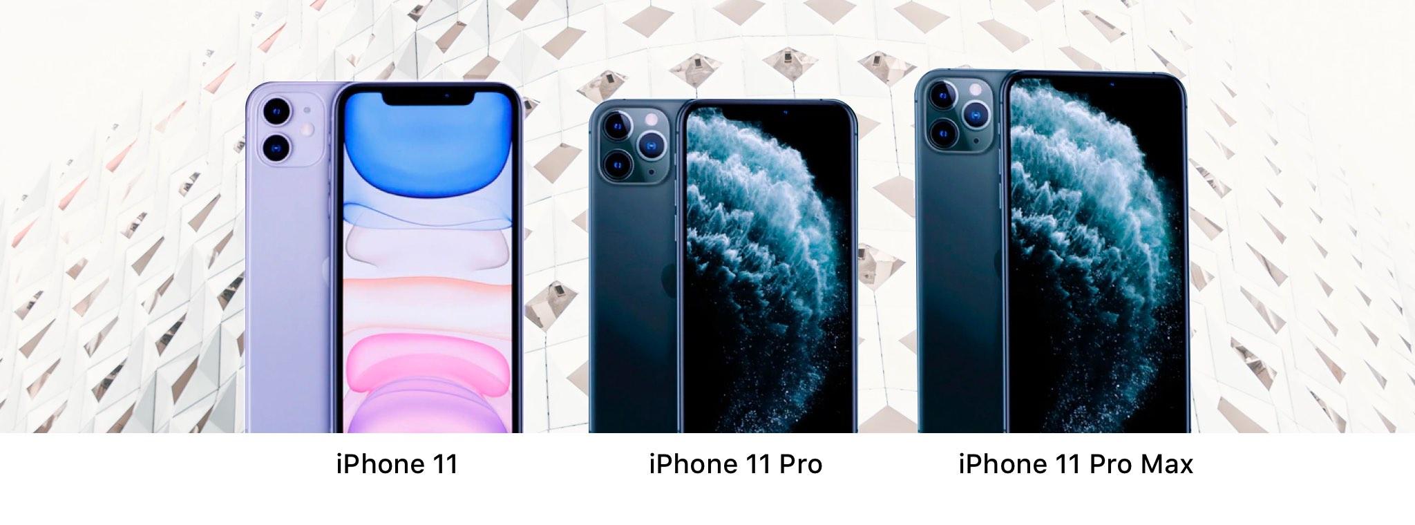 Die Apple iPhone 11er Reihe
