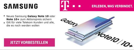 Das Samsung Galaxy Note 10 und Note 10+ | Mobileforyou