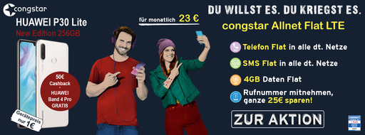Top Angebot: Die congstar AllnetFlat LTE für nur 23€ | Mobileforyou