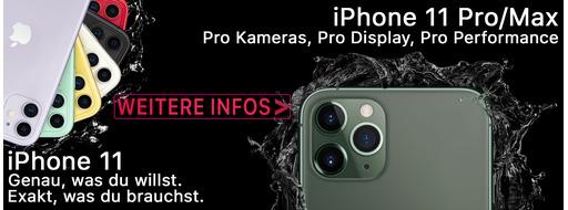 Das neue unschlagbare Trio von Apple: Die iPhone 11 Reihe