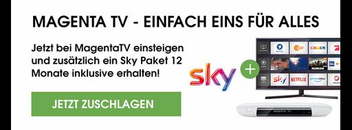 Mit Magenta TV 12 Monate Sky inklusive genießen | Mobileforyou