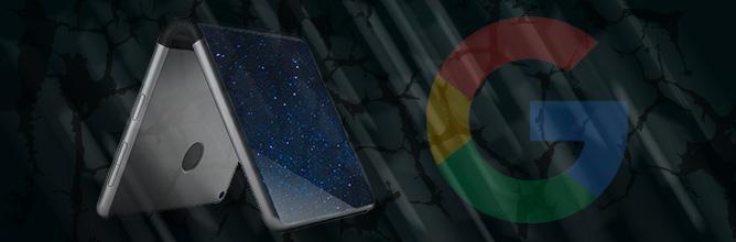 Google meldet Patent für faltbares Smartphone an