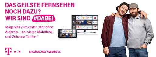 Das geilste Fernsehen noch dazu? Wir sind #dabei | Mobileforyou