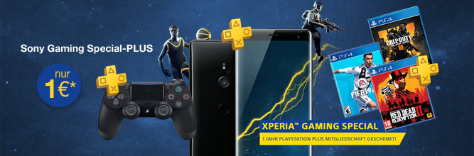 Sony Gaming Special - Xperia XZ3 + PS4-Controller + Game