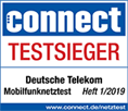Telekom connect Testsieger 2019