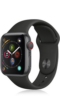 Apple Watch Series 4 (GPS + Cellular) Alu 44mm Sport mit Vertrag