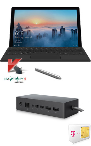 Microsoft Surface Pro 4 256GB i5 + Cover + Docking mit Vertrag