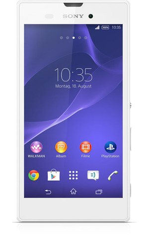 Sony Xperia style mit Vertrag