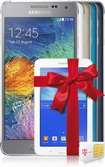 Samsung Galaxy Alpha Aktion mit gratis Tablet