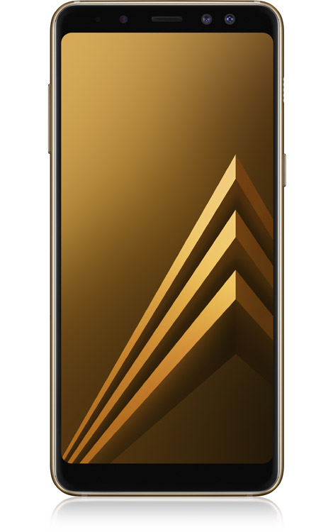 Galaxy A8 Duos Front